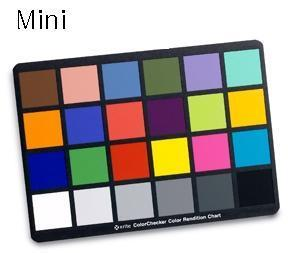 Mini ColorChecker Chart24